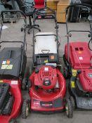 A Toro 600 series GTS Petrol Lawn Mower