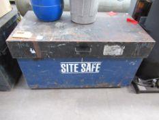 "A Site SafeLockable Tool Storage Box ""No Keys"""
