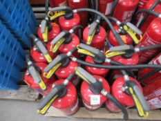 13 x various Fire Extinguishers