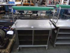 Grundy G.M.G Hot Cupboard S/N 2127 K10, 240V single phase