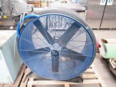 A Blue Max 3PH Fan Unit. Please note there is a £10 plus VAT Lift Out Fee on this lot.