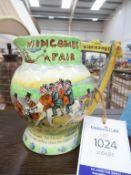 A Crown Devon Musical jug