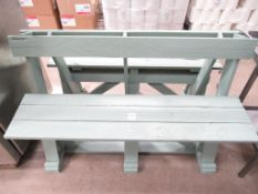 2 x Wooden Benches