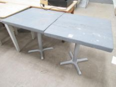 2 x Matching Square Tables