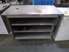 Grundy G.M.G Ambient Hot Cupboard S/N 2123 K10
