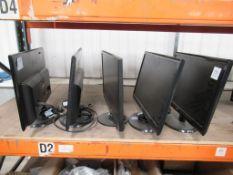 5 x various Monitors