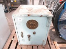 A Milners Fire Resisting Safe