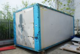 20ft x 8ft Steel Storage Container