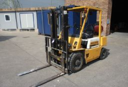 Kamatsu FG20T-8 LPG Forklift, 2000kg capacity, duplex mast, Lift Height 3600mm, Closed Height