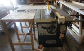 Sedgwick TA315 Table Saw 400v
