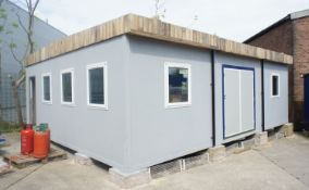7m x 9m Open Plan Modular Building