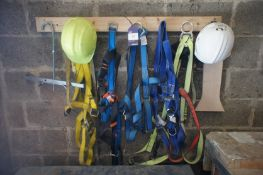 5 Various Safety Harness & Hard Hats