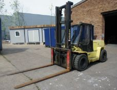 Hyster H7-00XL Diesel Forklift, 7000kg capacity, glazed cab, duplex mast, Lift Height, 4400mm,