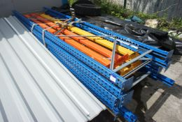 4 Bays of Pallet Racking comprising of 5 End Frame