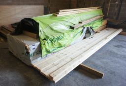Quantity of Unused Timber 45 x 95 x 5000mm