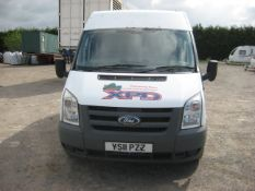 Ford Transit T260 Van, registration YS11 P