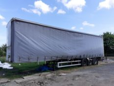SDC 13.7m TRI-AXLE Curtain Side Trailer