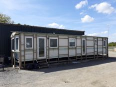 40' x 12' Pemberton Novella Static Caravan Converted in to office
