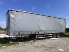 SDC Tandem Curtain Side Trailer