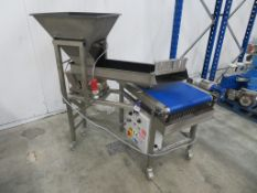 2014 Podmores FV 300-380 Vibro Feed Unit with belt conveyor