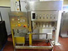Alimec. 6 Head oiling unit & Alimec twin line, depositing and injection