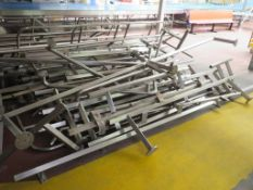 Qty of Stainless steel handrail and various height barriers