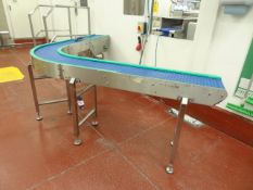 90 deg variable drive conveyor.