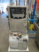 Domino A-400 Large Format Inkjet Printer on Stainless Steel Stand