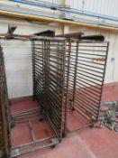 4 x 19 Tray Bakers Racks