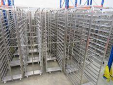 35 x 16 Tray Bakers Racks
