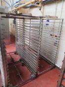 6 x 20 Tray Bakers Racks