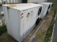 4 x 2012 Zanotti Twin Fan Condenser Units