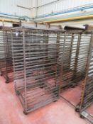 5 x 19 Tray Bakers Racks