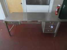 Teknomek Stainless Steel Desk