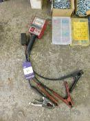 Snap-on battery/alternator tester & 12v auto surge