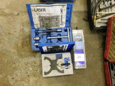 Assortment of Laser tooling including diesel injec