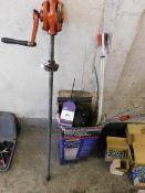 Sealey 6.5Ltr manual vacuum oil & fluid extractor & pump