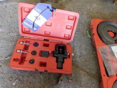 Sealey heavy duty motorcycle chain splitter & riveting tool set
