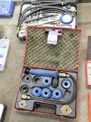 Unbadged coolant pressure tester kit