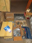 Pallet to contain Qty of Woodworking Screws, Hand Tolls etc