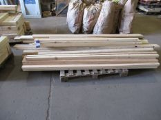 3 x pallets of various Wood Stock
