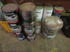 Qty of Industrial Floor Paint