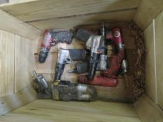 Box to contain Qty on Pneumatic Drills