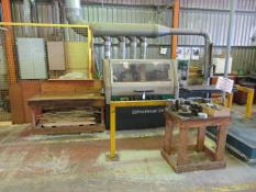 1997 Weinig Profimat 23E Four sided Moulder with Timber Take-off Table