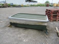 Paint Dipping Tank with the Lid Approx Dims 2280mm x 1280mm x 500mm, comes with the contents