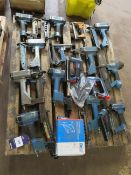 Pallet to contain Qty of Pneumatic Staple Guns