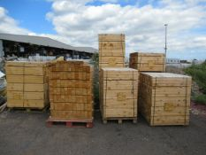 7 x pallets of various Wood Stock
