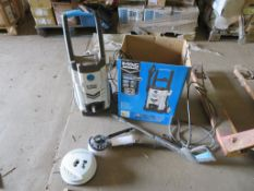 Macalister MPWP1800-2 Pressure Washer with attachments