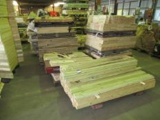 5 x stacks of various Wood Stock