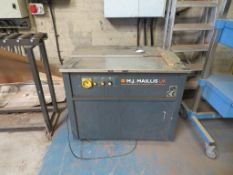 2010 Maillis Model MPSA2000 Strapping Table